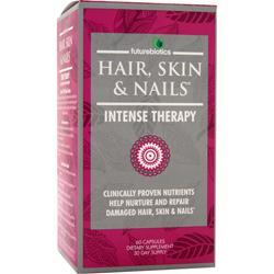FUTUREBIOTICS Hair, Skin & Nails - Intense Therapy Best by 7/15 60 caps
