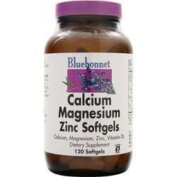 BLUEBONNET Calcium Magnesium Zinc 120 sgels