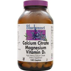 BLUEBONNET Calcium Citrate Magnesium Vitamin D3 180 cplts