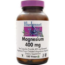 BLUEBONNET Magnesium (400mg) 100 vcaps