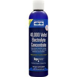 TRACE MINERALS RESEARCH 40,000 Volts Electrolyte Concentrate 8 fl.oz
