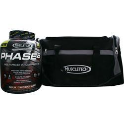 Muscletech Phase 8 Protein with Free Gym Bag Milk Chocolate 4.6 lbs