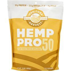 Manitoba Harvest Hemp Pro 50  BEST BY 9/30/17 2 lbs