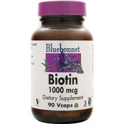 BLUEBONNET Biotin (1000mcg) 90 vcaps