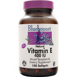 Bluebonnet Natural Vitamin E (400IU) 100 sgels