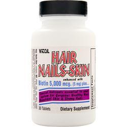 VITOL Hair Nails-Skin 30 tabs