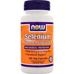 Now Selenium (200mcg Glycinate) 120 vcaps