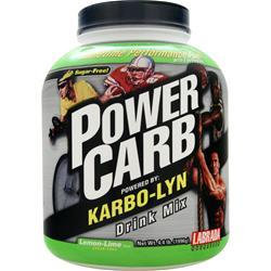 LABRADA Power Carb Drink Mix - Powered by Karbo-Lyn Lemon-Lime 4.4 lbs