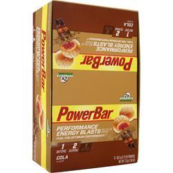 PowerBar Performance Energy Blasts Cola 12 pckts