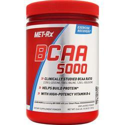 MET-RX BCAA 5000 Powder Unflavored 300 grams