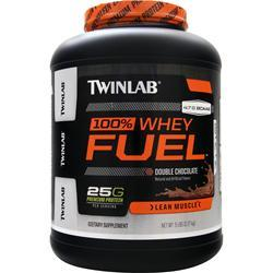 TwinLab 100% Whey Fuel - Lean Muscle Double Chocolate 5 lbs