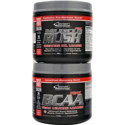 Inner Armour Muscle Rush Peak and BCAA Peak Combo Pack Fruit Punch (81g+176g) 257 grams