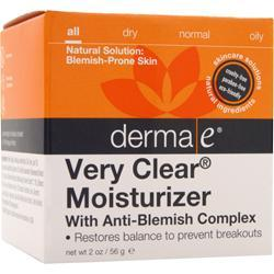DERMA-E Very Clear - Moisturizer with Anti-Blemish Complex 2 oz