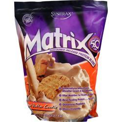 Syntrax Matrix 5.0 - Sustained Release Protein Peanut Butter Cookie 5 lbs
