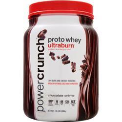 BNRG Proto Whey Ultraburn Chocolate Creme 1.4 lbs