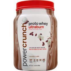 BNRG Proto Whey Ultraburn Vanilla Cafe 1.4 lbs