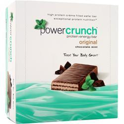 POWER CRUNCH Power Crunch Wafers Chocolate Mint 12 bars