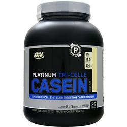 OPTIMUM NUTRITION Platinum Tri-Celle Casein Protein Vanilla Bliss 2.26 lbs