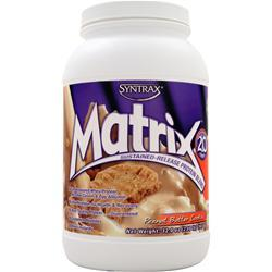 SYNTRAX Matrix 2.0 - Sustained Release Protein Peanut Butter Cookie 2 lbs