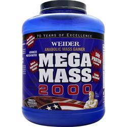 WEIDER Mega Mass 2000 Smooth Chocolate 8.6 lbs