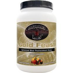 CONTROLLED LABS Gold Feast - Optimized Meal Replacement Shake Furious Fruit Punch 3.3 lbs