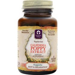 Genesis Today California Poppy Extract (400mg) 60 vcaps