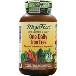 Megafood One Daily - Iron Free 90 tabs