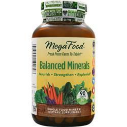 Megafood Balanced Minerals 90 tabs