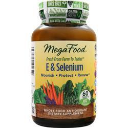 Megafood E & Selenium 60 tabs