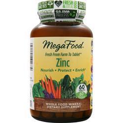 Megafood Zinc 60 tabs