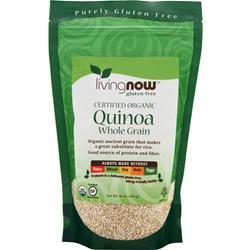 Now Certified Organic Quinoa Grain  BEST BY 7/19 16 oz
