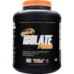 ISS Research Oh Yeah! Isolate Power Vanilla Creme 4 lbs