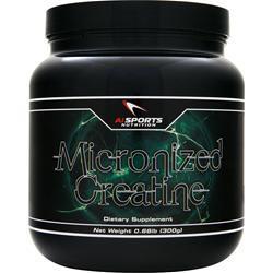 AI Sports Nutrition Micronized Creatine 300 grams