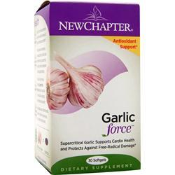 NEW CHAPTER Garlic Force 30 sgels