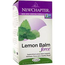 NEW CHAPTER Lemon Balm Force 30 sgels
