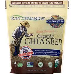 Garden Of Life Organic Chia Seed 12 oz