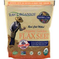GARDEN OF LIFE Organic Golden Flax Seed 14 oz