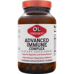 OLYMPIAN LABS Advanced Immune Complex Best by 10/14 90 vcaps
