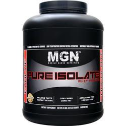 MGN Pure Isolate Whey Protein Chocolate 5 lbs
