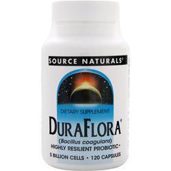 Source Naturals DuraFlora 120 caps
