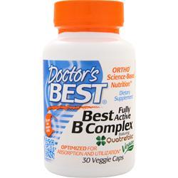 DOCTOR'S BEST Best B Complex - Fully Active 30 vcaps