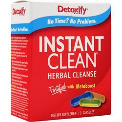 DETOXIFY Instant Clean - Herbal Cleanse 3 caps