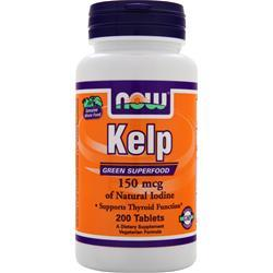 NOW Kelp (150mcg) 200 tabs