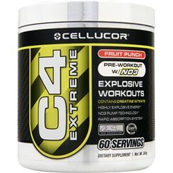 CELLUCOR C4 Extreme - Buy 2 Get 1 Free Fruit Punch 1062 grams
