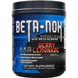NEW WHEY NUTRITION Beta NOX - Pre-Workout Mix Berry Lemonade 680 grams