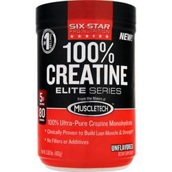 SIX STAR PRO NUTRITION 100% Creatine Elite Series Unflavored 400 grams