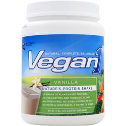 NUTRITION 53 Vegan1 Vanilla 1.5 lbs