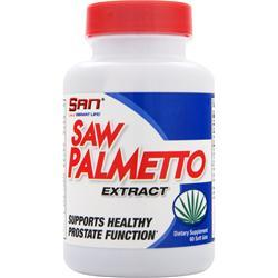 SAN Saw Palmetto Extract 60 sgels