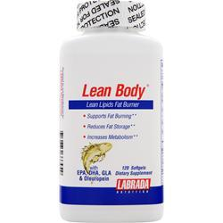 LABRADA Lean Body - Lean Lipids Fat Burner 120 sgels
