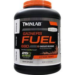 TWINLAB Gainers Fuel 680 - Xtreme Mass Chocolate Milkshake 6.17 lbs